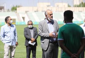 نبی: میخواهیم جام حذفی را قبل از ماه محرم برگزار کنیم