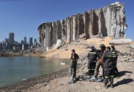ویدئو   صحنه آهسته انفجار بیروت با کیفیت HD
