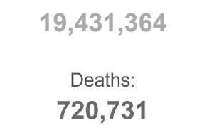 آخرین آمار رسمی کرونا در ایران و جهان   روند صعودی ابتلا در آمریکا   ۲۶ استانِ قرمز در وضعیت ...