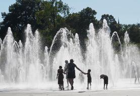 موج گرمای شدید در فرانسه + گزارش تصویری
