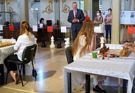 برگزاری رقابت های شطرنج در لهستان بدون رعایت موارد بهداشتی!