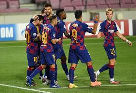 بارسلونا و بایرن مونیخ در جمع هشت تیم برتر لیگ قهرمانان اروپا
