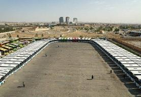 آغاز به کار ۸۰ دستگاه اتوبوس جدید شهری در ۳۰ خط