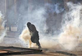 تصاویر | فوران خشم در بیروت و درگیری معترضان با پلیس ضد شورش