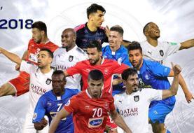 ۴ پرسپولیسی و ۳ استقلالی در تیم منتخب آسیا
