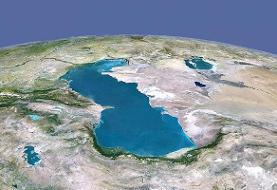 کاهش ۴ سانتیمتریتراز آب دریای خزر در سال ۹۹