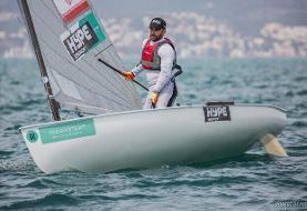 ملی پوش بادبانی: با تمام توان برای کسب سهمیه المپیک آماده میشوم