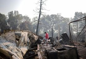 Oregon wildfire melts trucks, leaves warlike destruction in wake