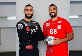 بُرد یاران موسوی و حیدری در لیگ هندبال اروپا