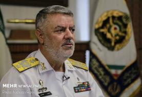 دریادار خانزادی از منطقه سوم نیروی دریایی ارتش بازدید کرد