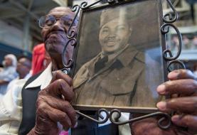 The oldest US World War II veteran received more than 10,000 birthday cards from around the ...