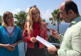 ستاره معروف ترکیه جلوی دوربین «هولیا» رفت
