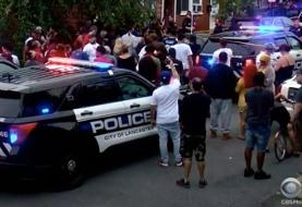 Riots Erupt in Lancaster after Police Shoot Man Wielding Knife