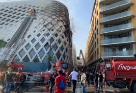 Lebanon crisis: Fire erupts in Zaha Hadid-designed shopping centre in Beirut