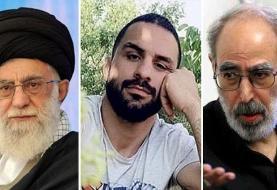 ابوالفضل قدیانی میگوید رهبر ایران مسئول اعدام نوید افکاری است