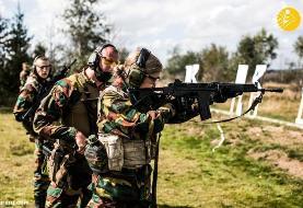 (تصاویر) شاهزاده و وارث تاج و تخت بلژیک در حال آموزش نظامی