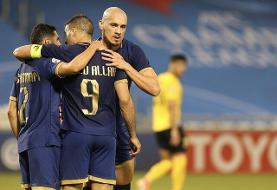 صعود النصر به مرحله یک چهارم نهایی لیگ قهرمانان آسیا