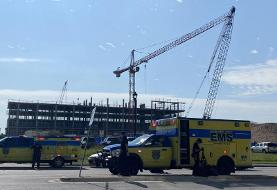 Two cranes collide at Austin construction site, sending at least 16 people to the hospital
