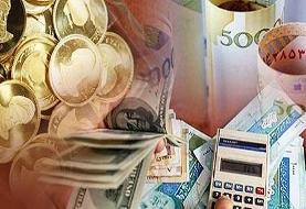 قیمت طلا، سکه و دلار در بازار امروز ۱۳۹۹/۰۶/۲۶/ ترمز قیمت دلار و سکه برید