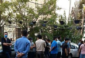تجمع هواداران استقلال به مقابل فدراسیون فوتبال کشیده شد