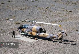 (تصاویر) مانور بالگردهای جنگی هوا نیروز ارتش