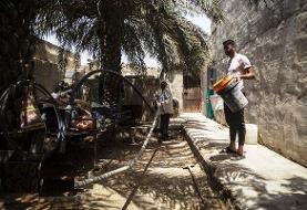 افتتاح مخازن آبرسانی سپاه در غیزانیه