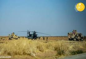 (تصاویر) بالگرد آمریکایی در سوریه سقوط کرد؟