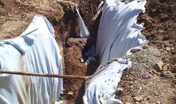 ریزش آوار خاکبرداری در آبعلی جان ۲ کارگر را گرفت