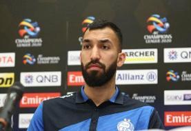 واکنش مدافع استقلال به خبر توافقش با باشگاه قطری