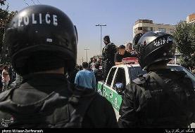 تصاویر | دستگیری اراذل و اوباش محله تهران پارس