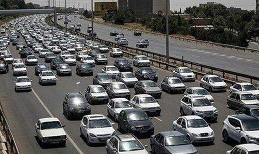 ادامه ترافیک در مسیرهای ورودی شمال/ یکطرفه شدن هراز و کندوان از فردا