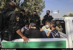 تصاویر | در محله گرداندن اراذل و اوباش تهرانپارس |  رئیس پلیس تهران: ...