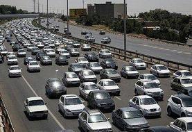 ترافیک سنگین در جاده چالوس/محورهای شمالی فاقد مداخلات جوی
