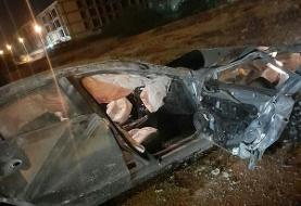 جان باختن دختر ۱۸ ساله در سانحه رانندگی در کیش/ شب مرگبار در جشن تولد