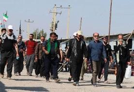 (ویدئو) ماجرای حضور برخی از زوار اربعین در مرز شلمچه