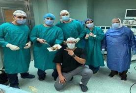 محتویات غیرمنتظرهای که در معده بیمار بود! + عکس