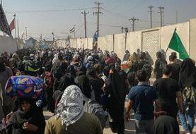 مرز شلمچه در هجوم زائران اربعین بسته شد