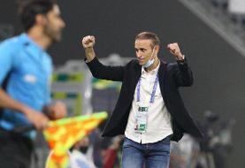 اظهارت سرمربی پرسپولیس بعد از صعود به نیمه نهایی لیگ قهرمانان