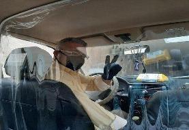 نقش رانندگان تاکسی در قطع زنجیره انتقال بیماری کرونا