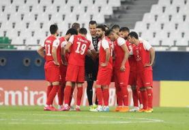 ترکیب پرسپولیس برای بازی با الدحیل/ رامین رضاییان در ترکیب تیم قطری