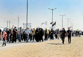 ویدئو | جزئیات ماجرای حضور برخی از زوار اربعین در مرز شلمچه