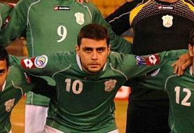 مرگ بازیکن لبنانی با گلوله