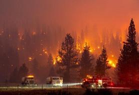 دود آتشسوزیهای آمریکا به اروپا رسید