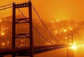 وقوع ۷۸۶۰ آتشسوزی در کالیفرنیای آمریکا
