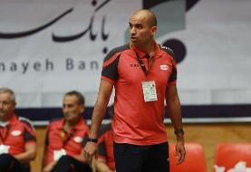 محمدیراد: بازی ما با مریوان با کیفیت نبود/ لیگ والیبال ظرفیت ۱۵ تیم را ندارد