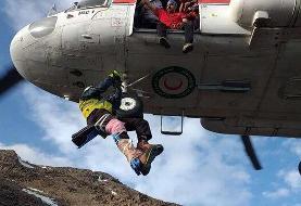 خدمات ستاد پیشگیری از حوادث کوهستان به بیش از ۱۶۰۰ نفر در دماوند در سه ماه