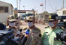 مرزهای چهارگانه ایران و عراق کاملا بسته است