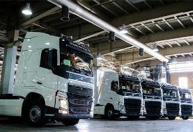 خودروهای سنگین باکیفیت تولید میشوند