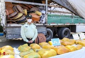 کشف ۱۱۰ کیلو تریاک در تهران