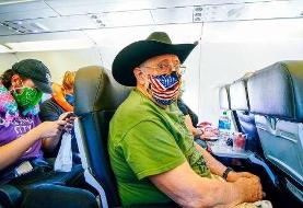 امکان انتقال کرونا در هواپیما